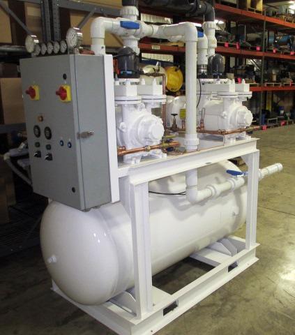 variable speed vacuum pump, variable speed central vacuum pump, liquid ring vacuum pump, liquid ring pump